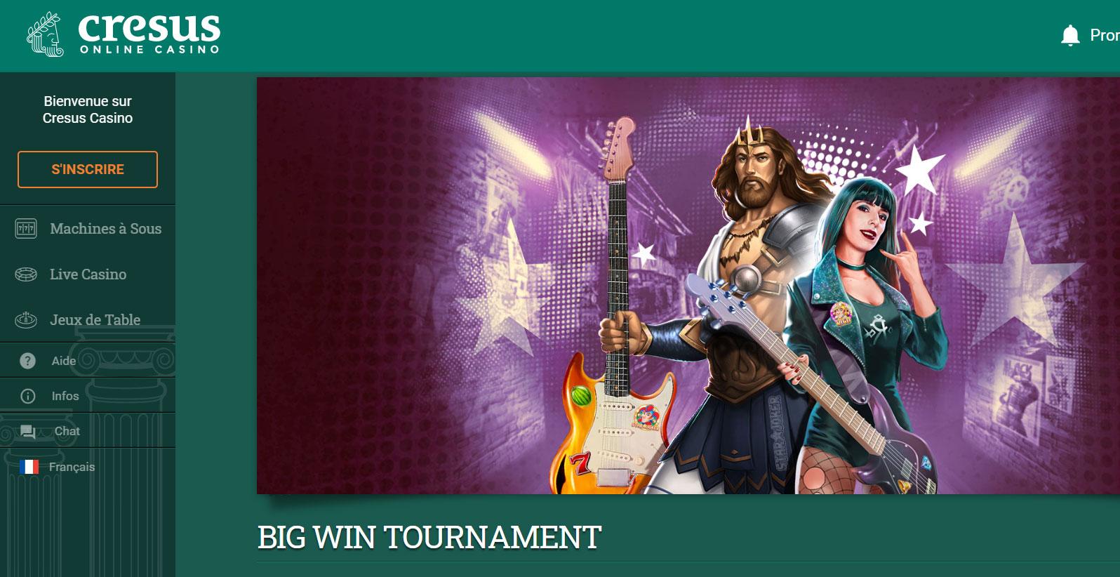 supers casinos en ligne